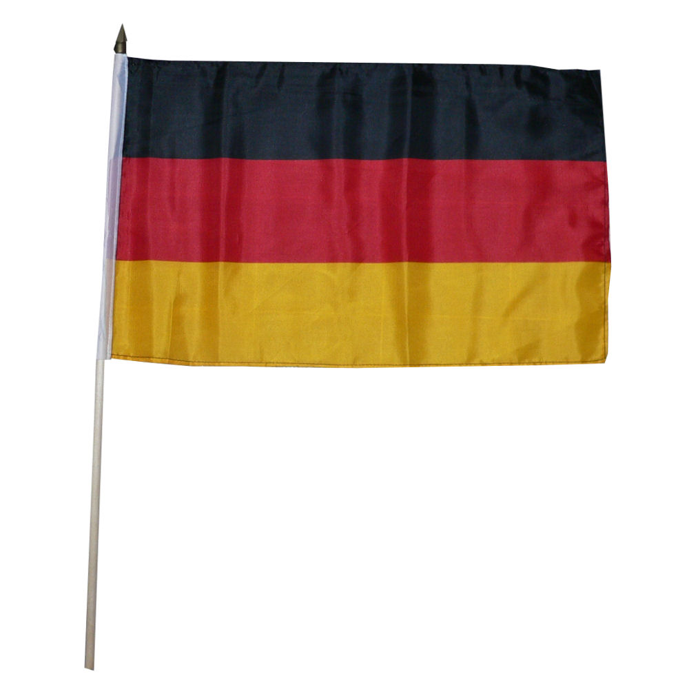 Zwaaivlag Duitsland 30x45cm