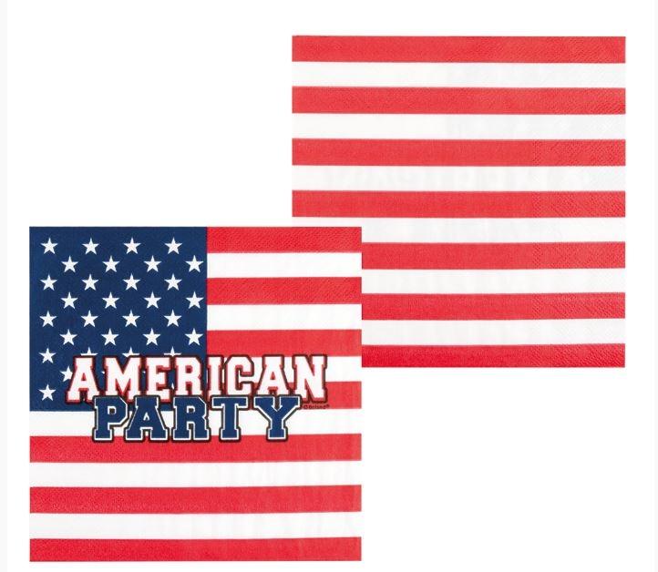 Servetten Amerika, USA Napkins