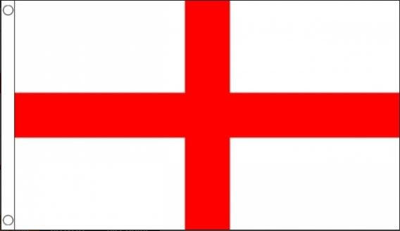 Engelse vlag, St. George's Cross 150x240cm Best Value