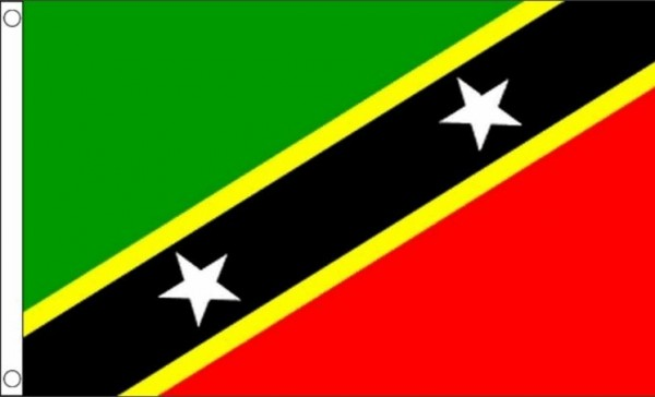 vlag saint kitts en nevis 90x150cm best value