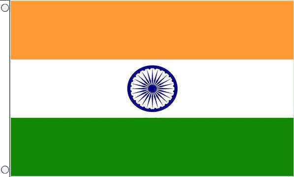 vlag India Indiase vlaggen  90x150cm Best Value