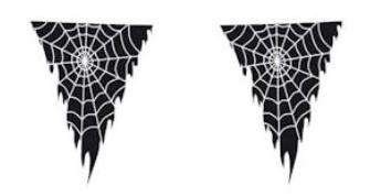 Vlaggenlijn-spinnenweb-op-transparante-wimpel-inzoom