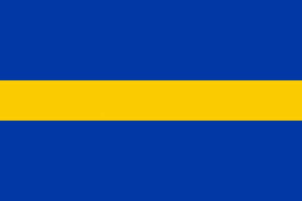 Grote vlag Borne