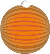 Oranje lampion