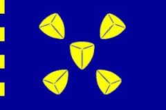 Vlag gemeente Bussum | Bussumse mastvlag 150x225cm