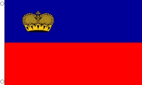 Vlag Liechtenstein 90x150cm | Best Value