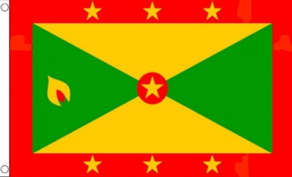 Vlag van Grenada 90x150 Best Value
