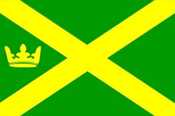 Grote vlag AA en Hunze