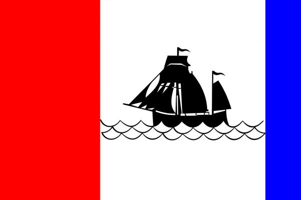 Grote vlag Pekela