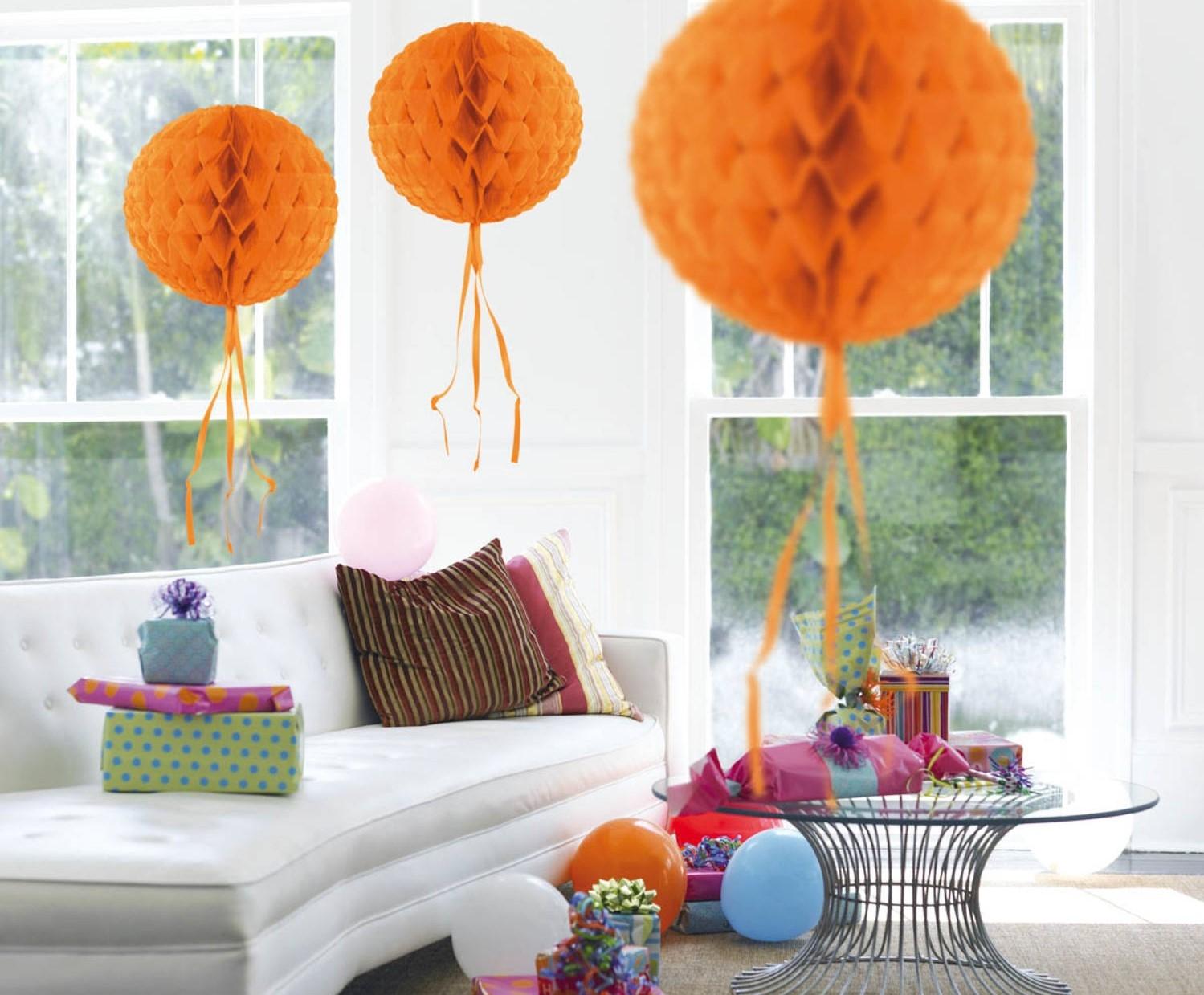 Honeycomb Oranje 30cm