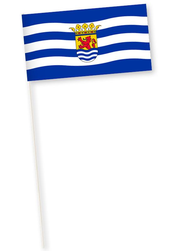 Zwaaivlag Zeeland, Zeeuwse zwaaivlaggetje 11x21cm