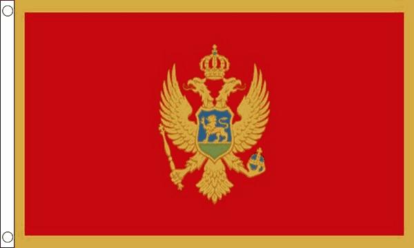 Vlag Montenegro 60x90cm