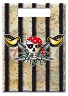 8 uitdeelzakjes Red Pirate