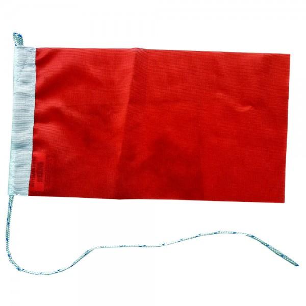Rode vlag 50x75cm kleur Rood