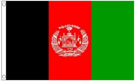 Afghaanse vlag 90x150cm best value