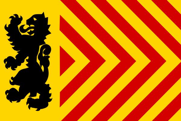 Vlag Langedijk 30x45cm