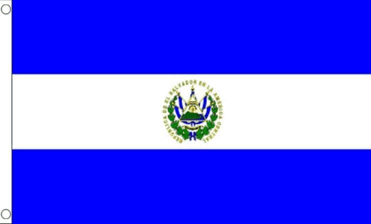Vlag El Salvador 90x150 Best Value