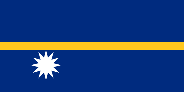 vlag Nauru | Nauruaanse vlaggen 100x150cm