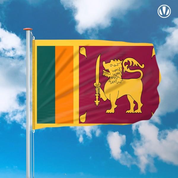 Mastvlag Sri Lanka
