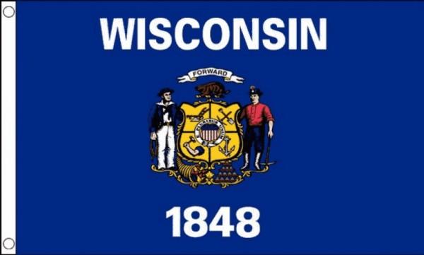 Vlag Wisconsin