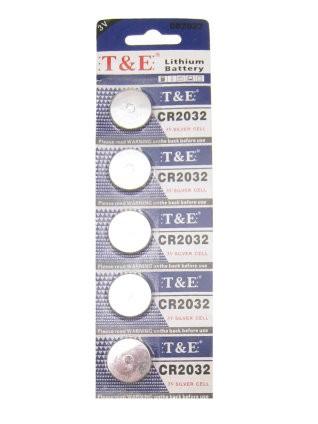 Batterij CR2032 Lithium 3V plat reserve batterijen Led verlichting