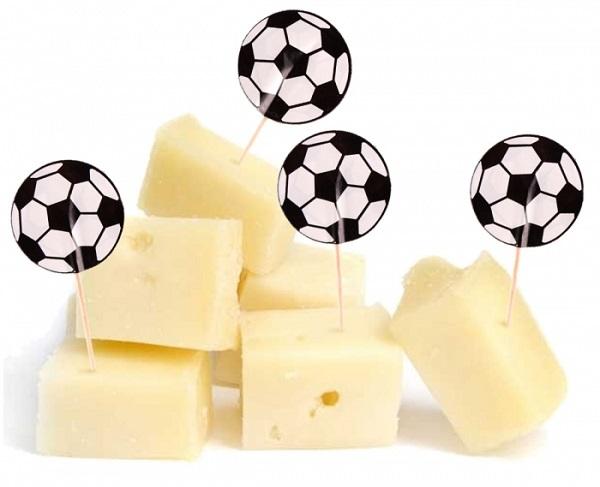 Voetbal kaasprikkers 20 stuks WK | EK
