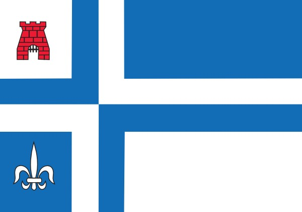 vlag Noordoostpolder 100x150cm
