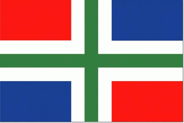 Grote vlag Groningen