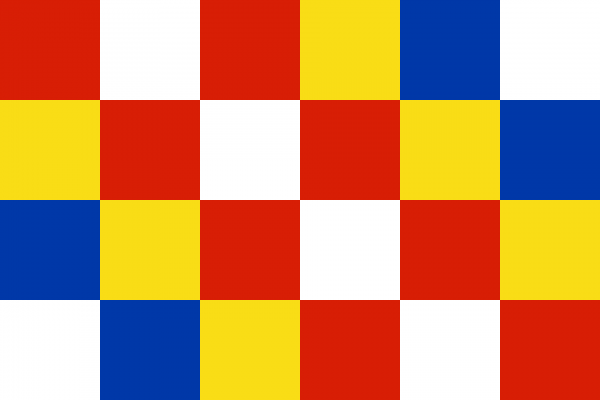 Vlag Antwerpen 100x150cm