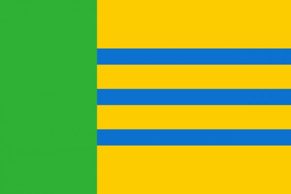 Grote vlag Woensdrecht