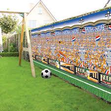 Holland Voetbal speeddecor XXL spandoek EK   WK 240x180cm