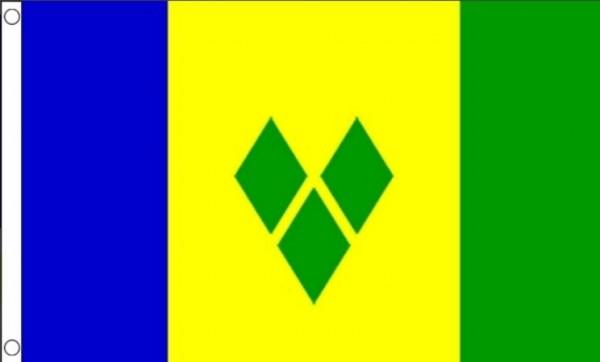 Vlag Saint Vincent en de Grenadines 60x90cm