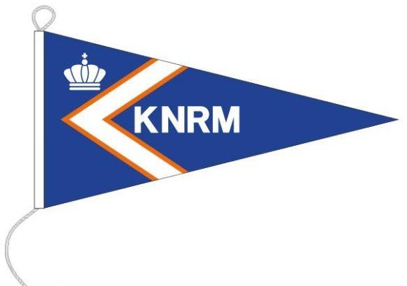 KNRM wimpel binnenvaart 50x100cm