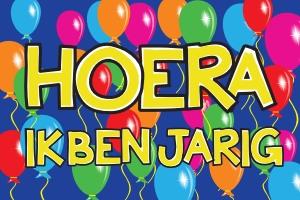 Vlag Verjaardag Hoera Ik Ben Jarig Bestellen