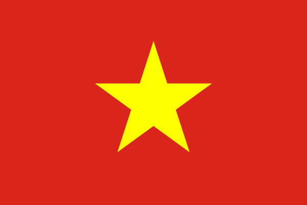Vietnamese vlag | vlaggen Vietnam 100x150cm gevelvlag