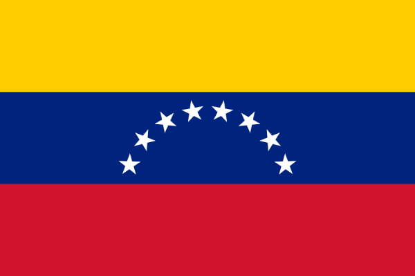vlag Venezuela 30x45cm | Venezolaanse vlaggen
