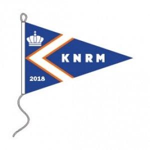 KNRM vlag 2018 35x50cm jaarwimpel kopen