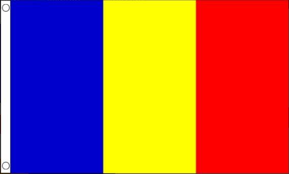 vlag Roemenië | Roemeense vlaggen 90x150cm Best Value