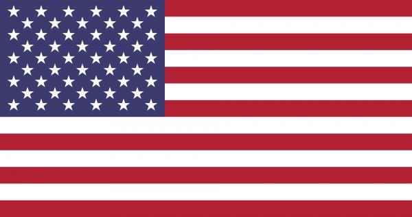 Vlag Verenigde Staten 100x150cm Glanspoly