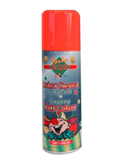 Hairspray Oranje haarverf uitwasbaar