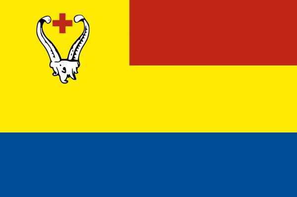 Vlag gemeente Giethoorn | Giethoornse vlaggen 100x150cm