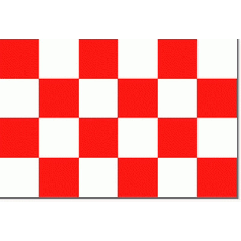 Noord-Brabantse vlag 30x45cm