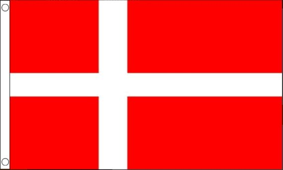 Deense vlag Denemarken 90x150cm Best Value