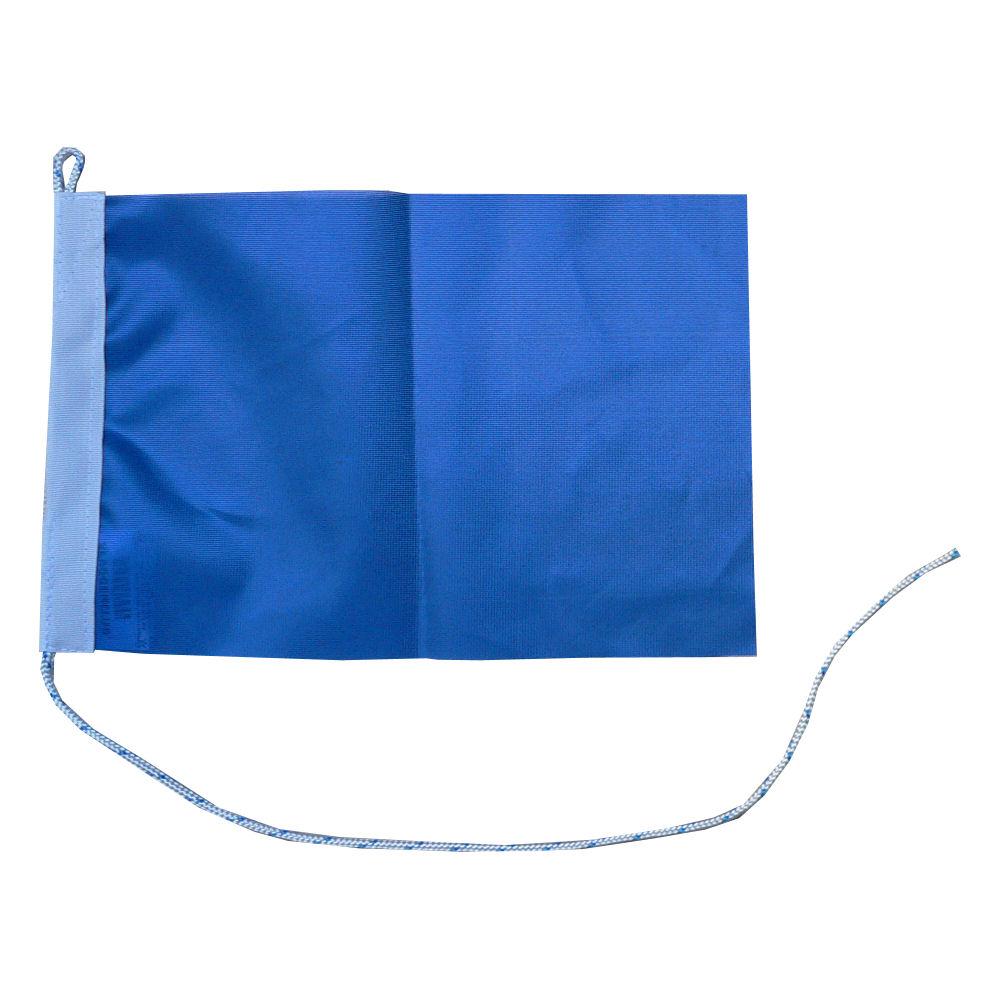 Blauwe vlag 200x300cm vlaggen Blauw