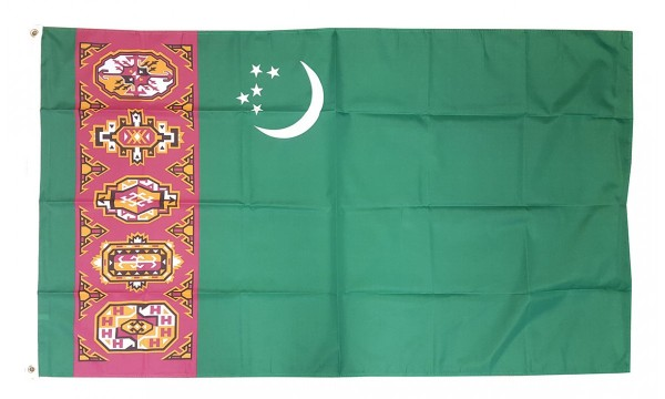 Vlag Turkmenistan 90x150cm | Best Value