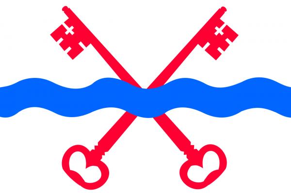 Grote vlag Leiderdorp