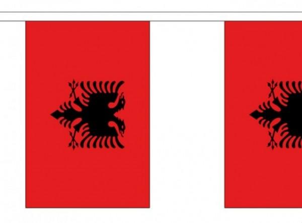 Vlaggenlijn Albanië I Albaneese Vlaggenlijn 3m