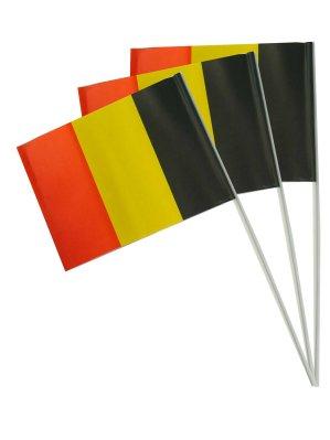 Zwaaivlag Belgie 20x30cm papier