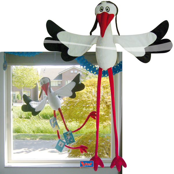 Ooijevaar voor op het raam als er een baby is geboren