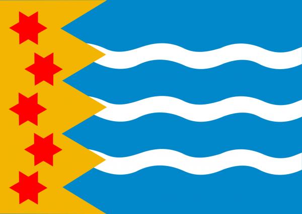 Grote vlag Oldambt